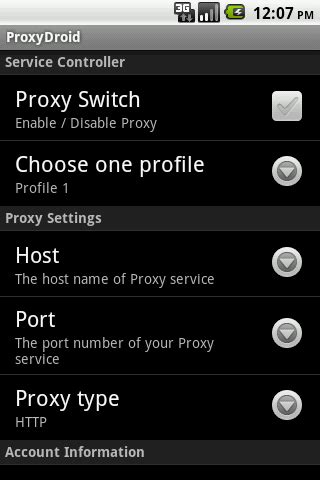 Set Proxys (http / Socks4 / Socks5) On Your