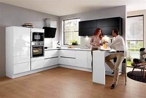 Weiße Hochglanz Küche Reinigen : wei e k che m bel brucker ~ Markanthonyermac.com Haus und Dekorationen