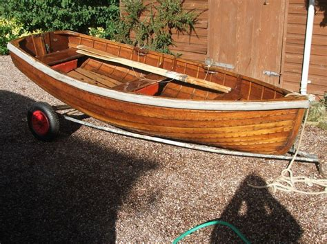Rowing Boats For Sale Devon by Varnished Clinker Rowing Dinghy Brick7 Boats