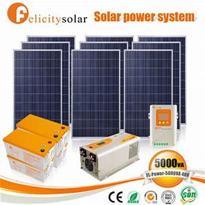 Factory Cost Complete Home 3kw Solar Kit For Zambia - Buy ...