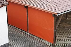 Carport Mit Plane : carport seitenw nde verkleiden mit pvc plane oder windschutznetz ~ Markanthonyermac.com Haus und Dekorationen
