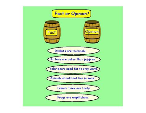 Facts Vs Opinions Examples, Games & Activities  Video & Lesson Transcript Studycom