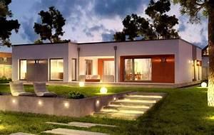 Fertighaus Bungalow 120 Qm : bungalow modern grundriss die neuesten innenarchitekturideen ~ Markanthonyermac.com Haus und Dekorationen