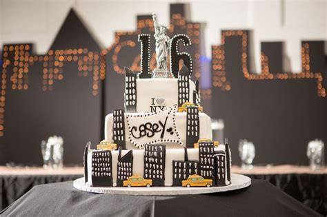 1000+ Images About New York City Themed Sweet 16 On