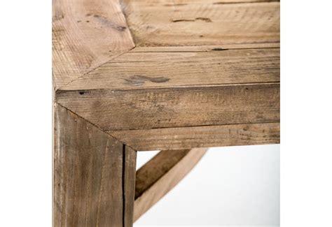 table basse carr 233 en bois brut naturel vical home vical home 20661