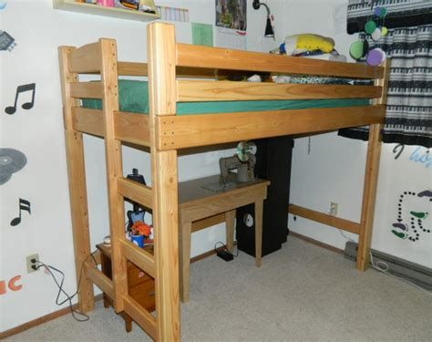 Loft Bed Woodworking Plans by 2 215 4 Loft Bed Plans Free 187 Woodworktips
