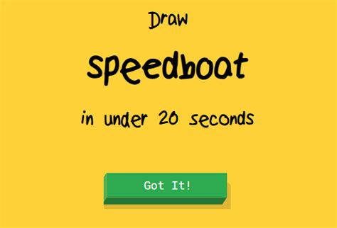 Speedboat Quick Draw by Quick Draw Un Jeu Vraiment Cool Powered By Google Blog