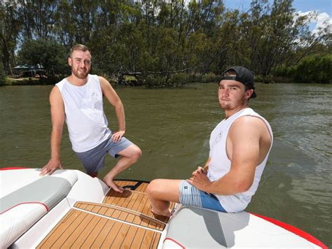 Wake Boat Erosion by Wake Boat Trial Ban Divides Murray River Visitors The