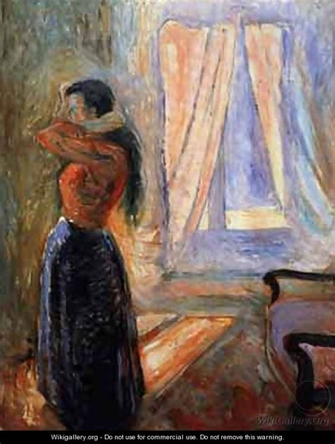 femme 224 sa toilette edvard munch wikigallery org the largest gallery in the world