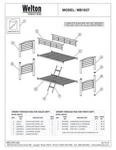 Futon Bunk Bed Walmart by Bunk Beds Parts My Blog