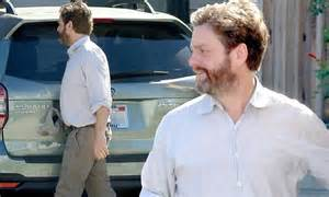 Zach Galifianakis shows off dramatic weight loss with wife ...