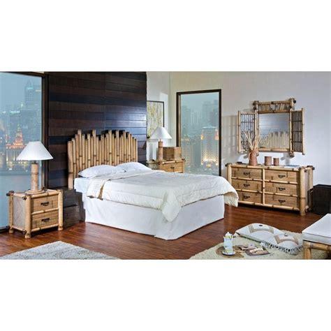 rattan bedroom furniture hospitality rattan 4 pc set 712 b q bamboo 4