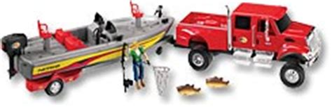 Toy Bass Boat by Super Scout Specialists Inc International Cxt Truck