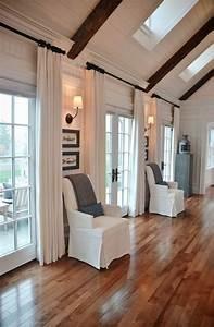 Plissee Für Große Fenster : 60 elegante designs von gardinen f r gro e fenster ~ Markanthonyermac.com Haus und Dekorationen