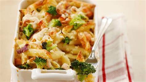 gratin de p 226 tes aux brocolis et au jambon de dinde rezept 187 knorr