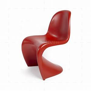 Panton Chair Rot : verner panton chair red ~ Markanthonyermac.com Haus und Dekorationen