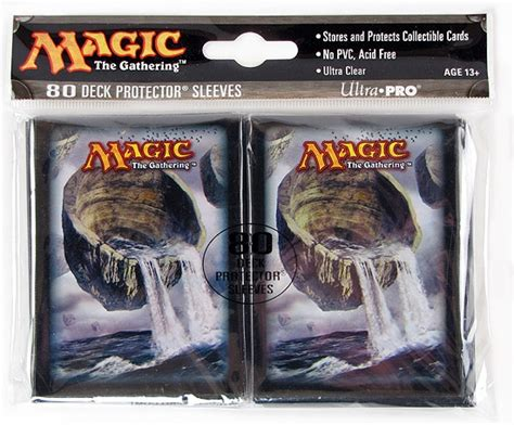 ultra pro magic the gathering land deck protectors 80