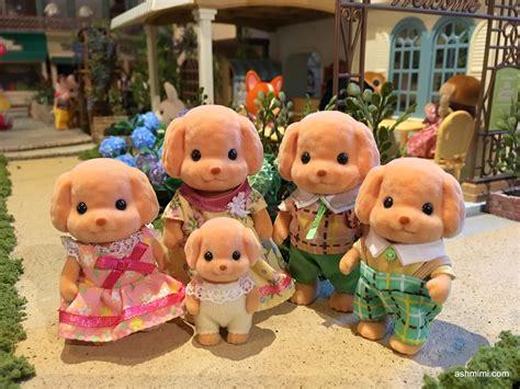Toy Poodle Family  Mimi's Little Sylvanian Town