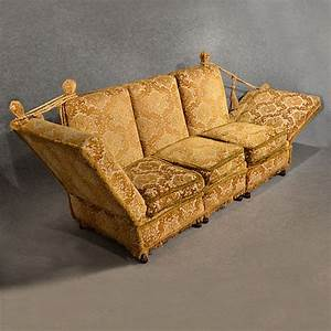 Big Sofa Vintage : antique knole sofa couch settee large 3 seater day bed english victorian c1900 323001 ~ Markanthonyermac.com Haus und Dekorationen