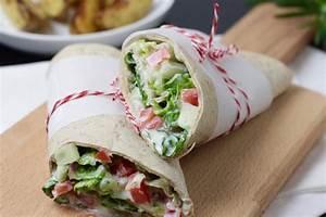 Wraps Füllung Vegetarisch : vegetarische wraps mit kr uterquark ~ Markanthonyermac.com Haus und Dekorationen