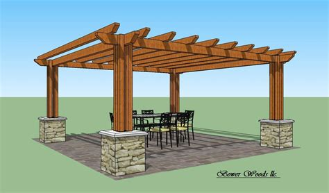 pergola plans personalise your home by utilizing a woodoperating router