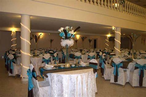 d 233 coration mariage turquoise mariage chocolat turquoise