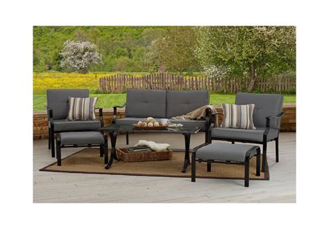 patio furniture chair ottoman loveseat coffee table