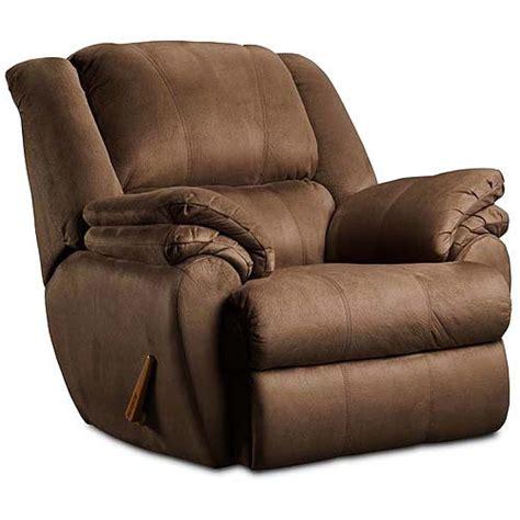 Recliner Chair Walmart by Ashford Rocker Recliner Chocolate Furniture Walmart