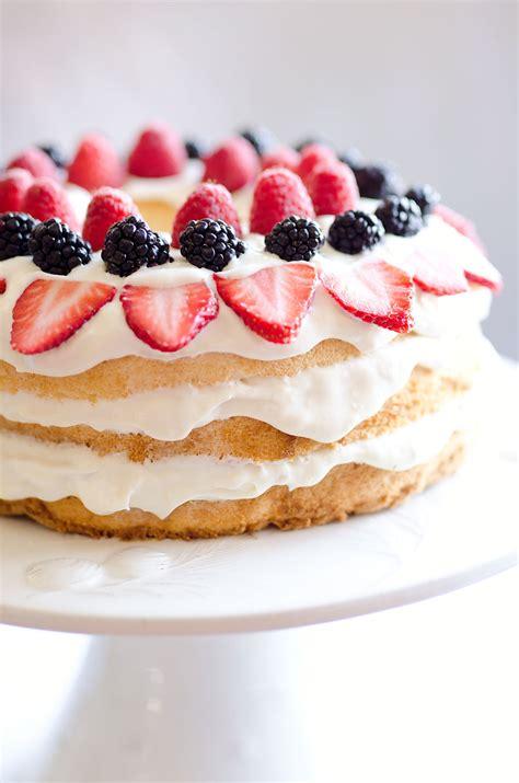light berry food cake 15 minute dessert