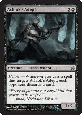 ashiok s adept from born of the gods spoiler