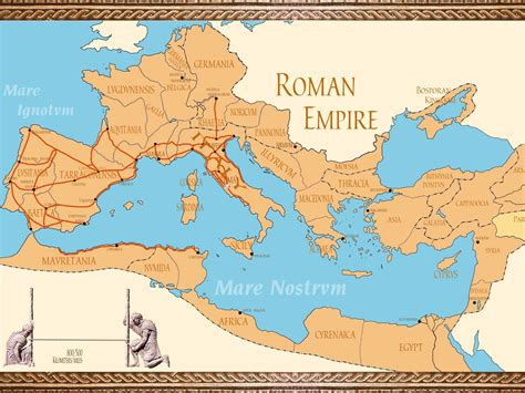 Roman Empire Maps  Istanbul Tour Guide