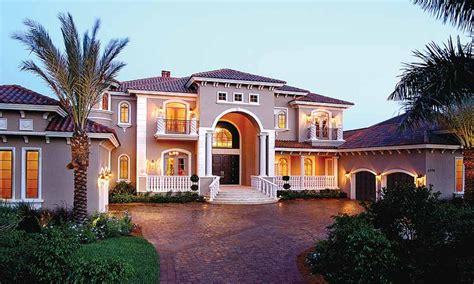 Large Mediterranean House Plans Mediterranean Style Home