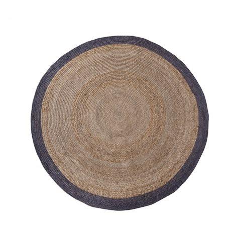 tapis rond en chanvre 200 cm ermelo par drawer fr