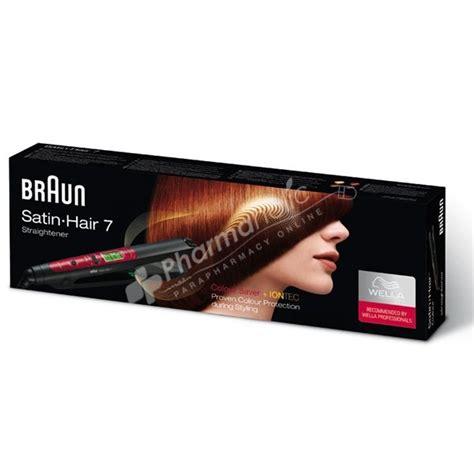 Electrical  Braun SatinHair 7 ES3 Colour Straightener
