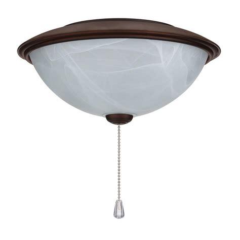 nutone alabaster glass contemporary bowl ceiling fan light