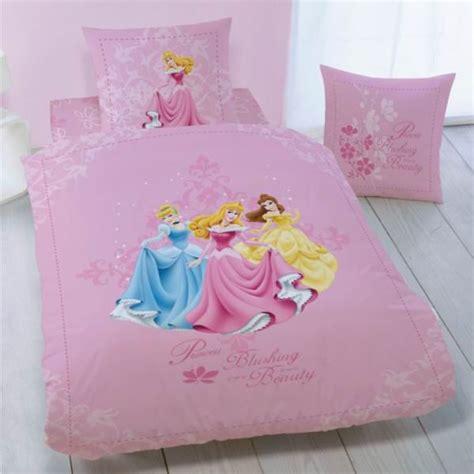 disney princesse housse de couette parure de lit enfant 100 coton disney