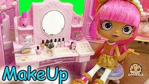 Shopkins Shoppies Dolls Get Makeup Make Overs At Boutique ...