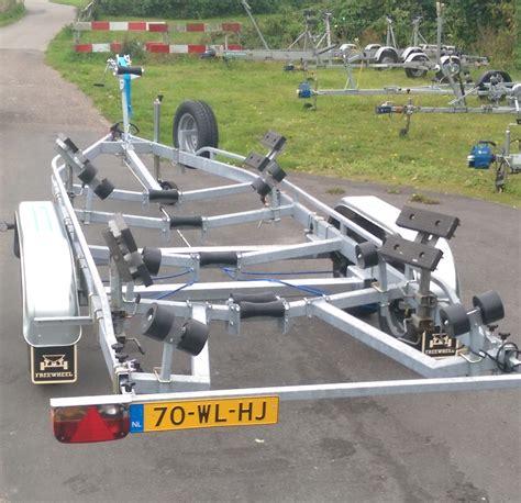 Boottrailer Te Huur by Boten Tot 1550 Kg De Merenburger Boottrailerverhuur