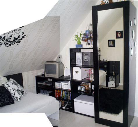 d 233 coration d int 233 rieur chambre en noir et blanc kr 233 attitude