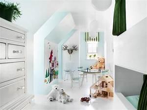 Gaming Zimmer Deko : 28 einrichtungsideen f r kinderzimmer mit dachschr ge ~ Markanthonyermac.com Haus und Dekorationen
