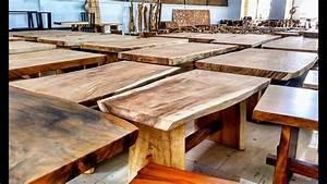 Tisch Selber Machen : 41 79 643 4087 mobil baumstamm tisch massivholztisch suar und baumstamm hocker garten youtube ~ Markanthonyermac.com Haus und Dekorationen