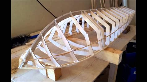 Boat Slip In Spanish by Rc 49 Inch Riva Aquarama Boat Build Part 1 Youtube
