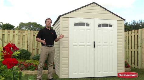 rubbermaid big max shed 7x7 rubbermaid big max outdoor storage shed