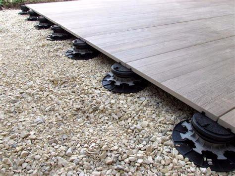 nivrem terrasse bois dalle sur plot diverses id 233 es de conception de patio en bois pour