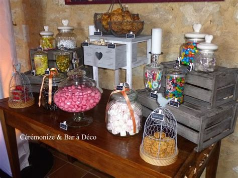 bar bar a bonbons bar mariage decoration bar bonbonni 232 re pour le bar