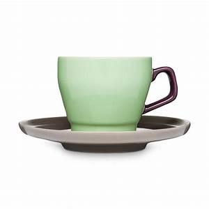 Braun Und Grün Ergibt : kaffeetasse mit untertasse pop gr n pflaume braun sagaform ~ Markanthonyermac.com Haus und Dekorationen