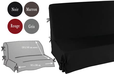 housse canap 233 clic clac unie taille unique 192 nouettes et jupe ebay