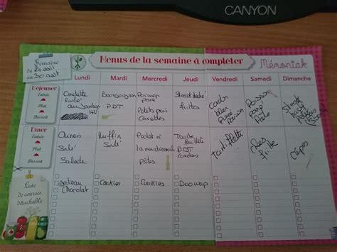 planning menu des semaines 35 et 36 famille nombreuse famille heureuse