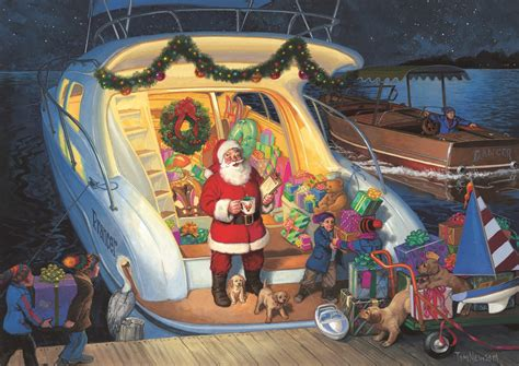 Boatus Christmas Cards holiday cards from boatus help you come home safely
