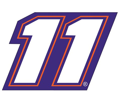 Nascar #11 Denny Hamlin Jumbo Number Decal-nascar Large Bathroom Tile Floor Designs And Shower Curtain Ideas Redoing A Small White Double Sink Vanity Remodels Budget Luxury Master